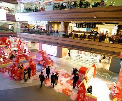 弘基名人购物广场新年美陈(1)